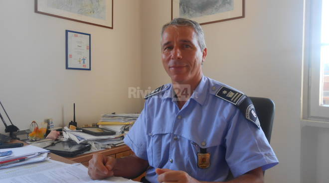 Riviera24 - Fulvio Asconio vice comandante Vigili Sanremo