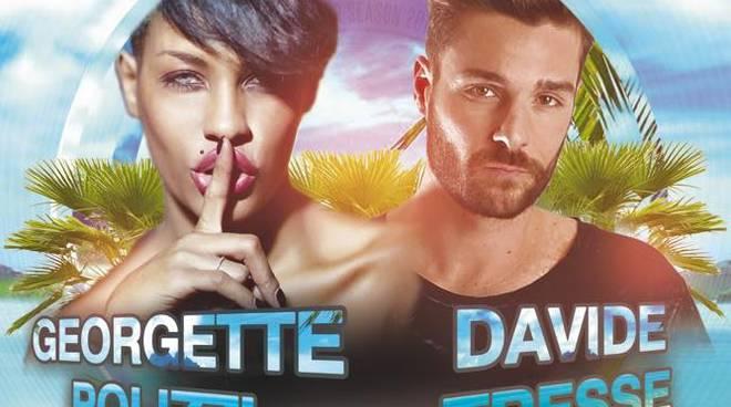 Riviera24 - Georgette Polizzi e Davide Tresse al Bay Club