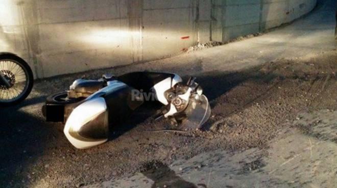 riviera24 - incidente località san martino taggia
