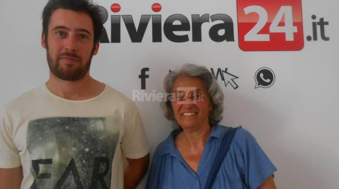 Riviera24 - Nicolò Conte e Marina Muzi Associazione Stellaria