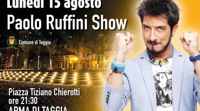 riviera24 - paolo ruffini show arma di taggia