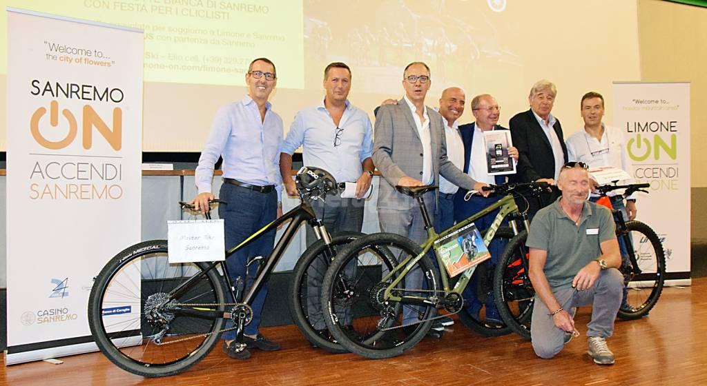 riviera24 - presentazione traversata limone on sanremo on mountain bike