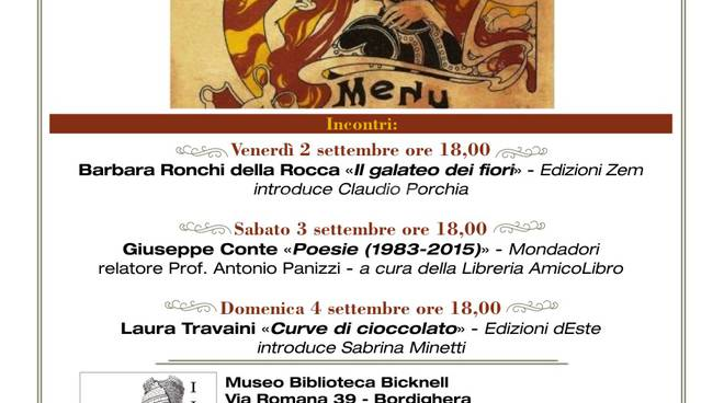 """riviera24 - """"Storia e cultura locale: La Liguria a tavola attraverso i suoi Menù"""""""