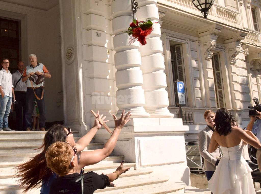riviera24 - Unione civile a Sanremo: oggi sposi Nitta e Riccardo