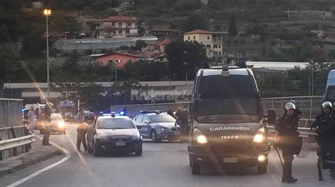 Ventimiglia: scontro tra migranti e polizia