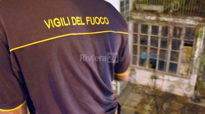 riviera24 - vigili del fuoco 115 notturna carabinieri