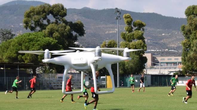 Argentina, iniziano gli allenamenti con la supervisione del drone
