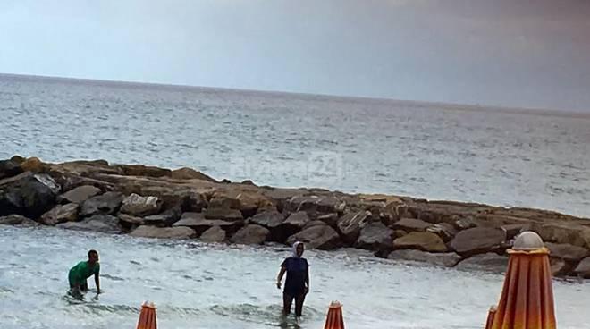 burkini al mare