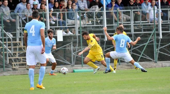 """Derby pirotecnico tra Argentina e Unione Sanremo, è 1 a 1 allo """"Sclavi"""""""