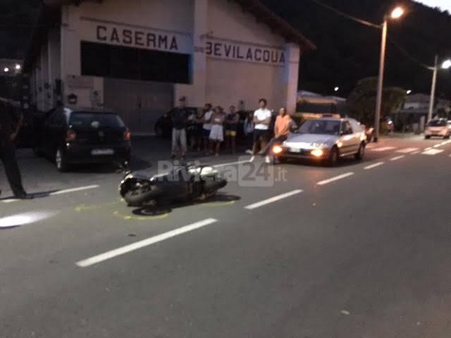 Incidente stradale Vallecrosia