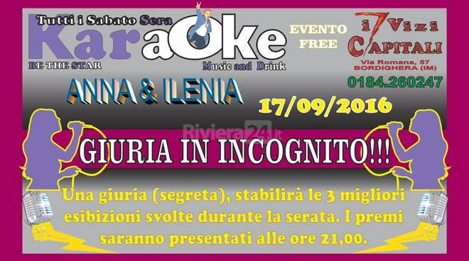 A bordighera una serata all 39 insegna del karaoke riviera24 - Una finestra tra le stelle karaoke ...