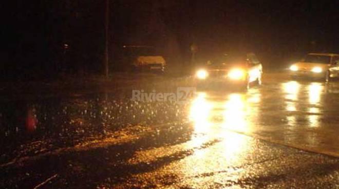 pioggia notte