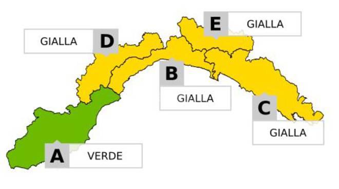 riviera24 - Allerta Gialla Idrogeologica