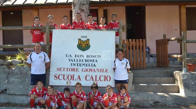 riviera24 - Atleti del Don Bosco Calcio di Vallecrosia