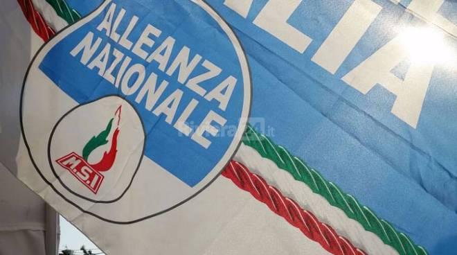 riviera24 -  Banchetto di Fratelli D'Italia-Alleanza Nazionale