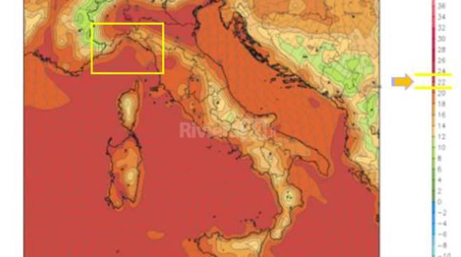 Riviera24 -Meteo, le previsioni del fine settimana