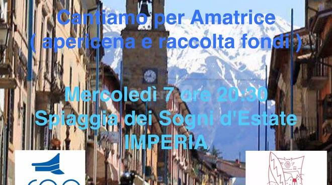 """riviera24 - """"Cantiamo per Amatrice"""""""