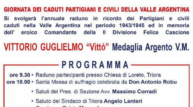 Riviera24 - commemorazione Partigiani e civili Loreto Triora 2016