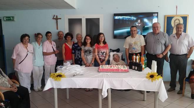 riviera24 - 101 compleanno della signora Ernesta Giusta