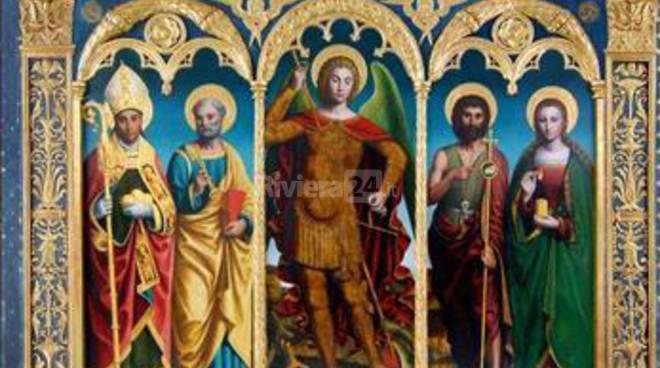 riviera24 - Diano Arentino, il polittico di San Michele torna nella chiesa di Diano Borello