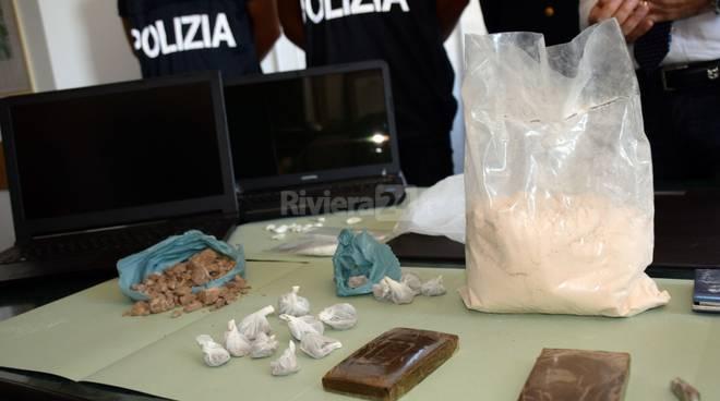 riviera24 - droga polizia