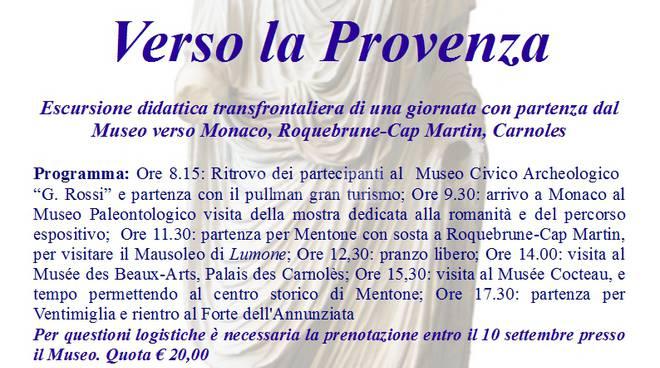 riviera24 - Escursioni didattiche sulla Via Iulia Augusta