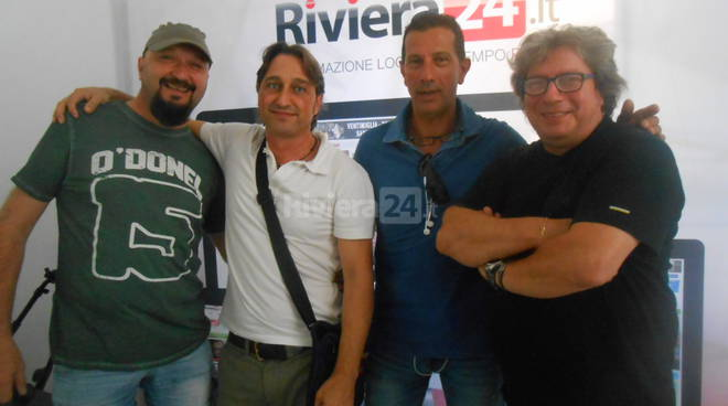 Riviera24 -  Fabio Casali, Max Borelli, Maurizio Praticò e Mimmo De Leo - Pink Time