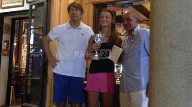 Riviera24 - Laura Moroni - tennis Academy sanremo
