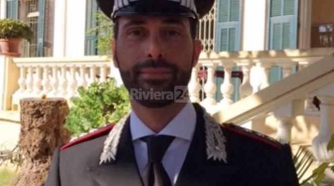 riviera24 - Ignazio LoritoComandante della Compagnia Carabinieri di Bordighera