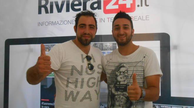 Riviera24 - Mauro Turchi e Daniele Capozucca - Sanremo c'è