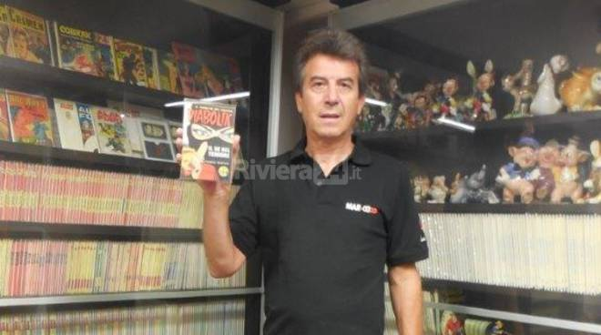 Riviera24 - Mauro Zamuner, collezionista Sanremo Art & Comics
