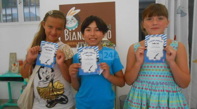 Riviera24 - Noah Faraldi, Daria Morabito, Camilla Salis scrittura creativa