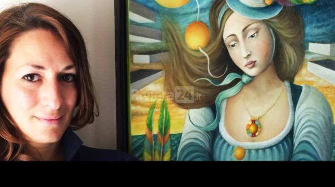 riviera24 - pittrice imperiese Federica Orsini