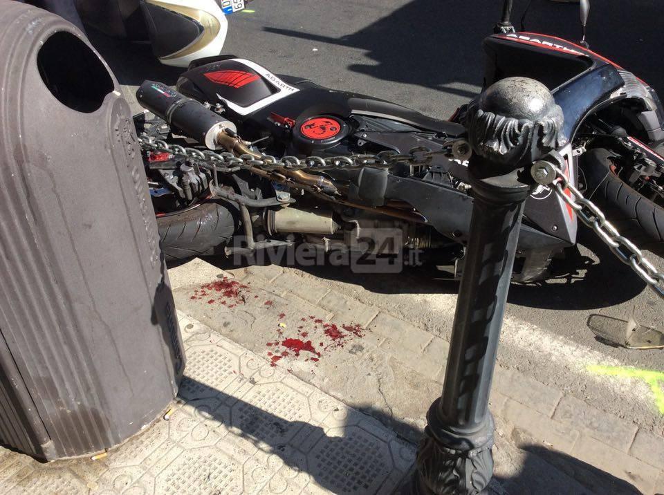 riviera24 - Sanremo, incidente in centro