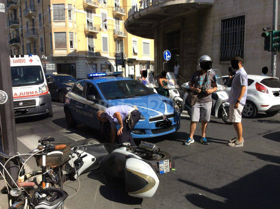 riviera24 - Sanremo, incidente in centro