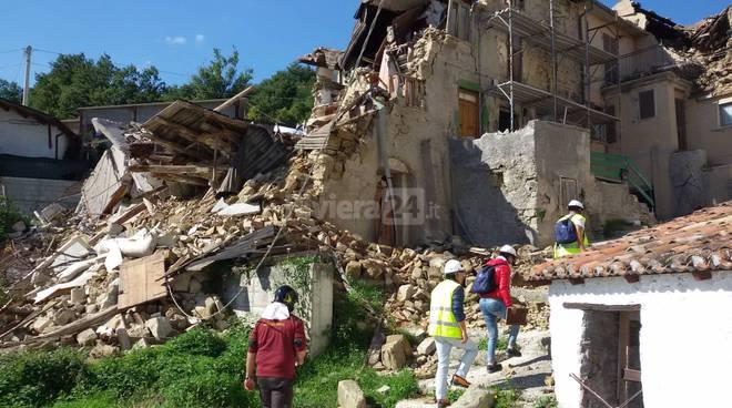 riviera24 - Tecnici in aiuto ai terremotati del centro Italia