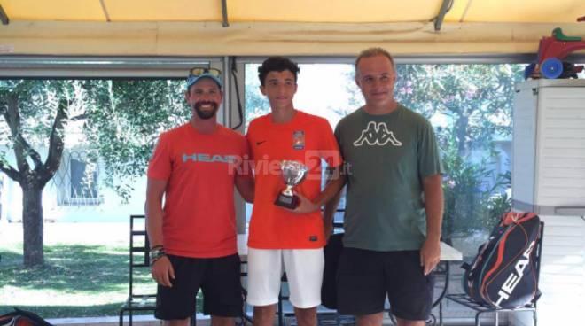 Riviera24 - Pietro Novaro - tennis Academy Sanremo