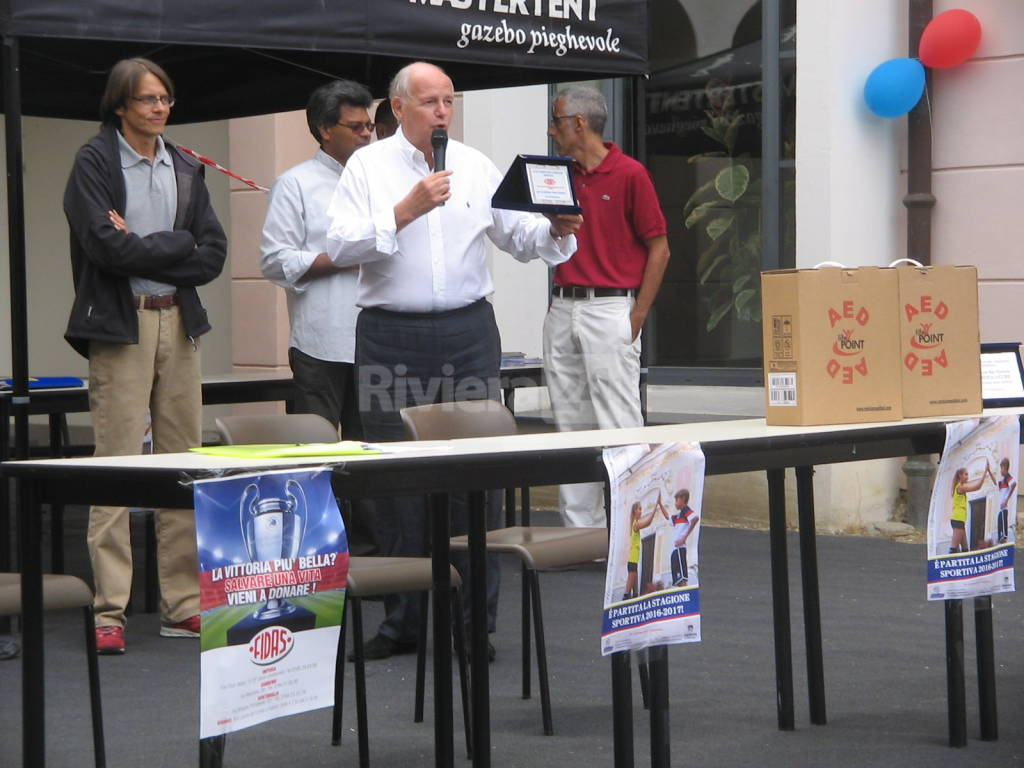riviera24 - Un dono per lo sport e per la vita