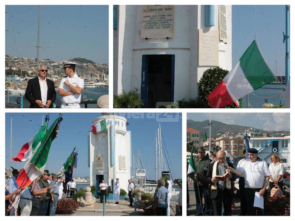 Sanremo - Cerimonia in memoria ai caduti in mare presso la Capitaneria di Porto