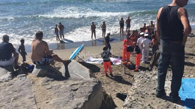 soccorso bagnante borgo marina