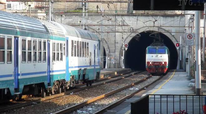 Raddoppio ferroviario san lorenzo andora prevista una - Immagini del treno per colorare ...