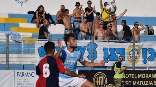 Scontri tra ultras dopo Sestri Levante-Sanremo, Daspo a tifoso dell'Entella
