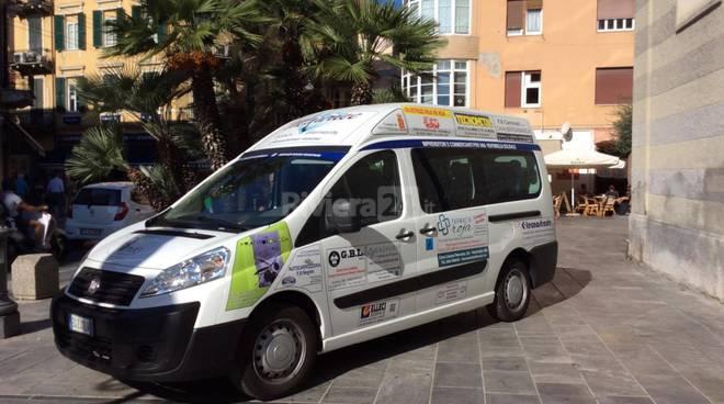 Ventimiglia, Fiat ducato alla SPES