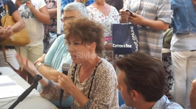 veronica pivetti al bordighera book festival