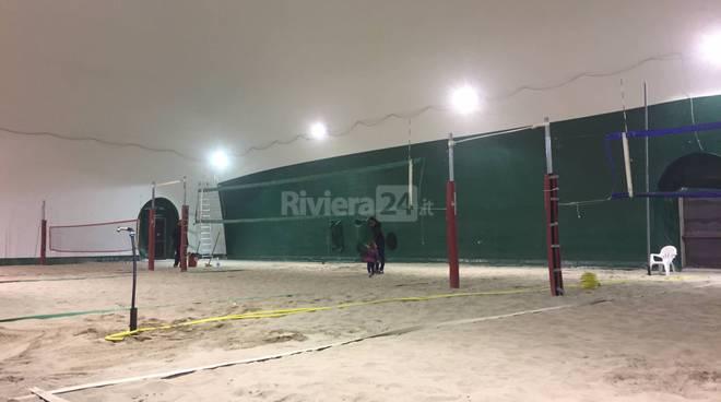 beach volley indoor