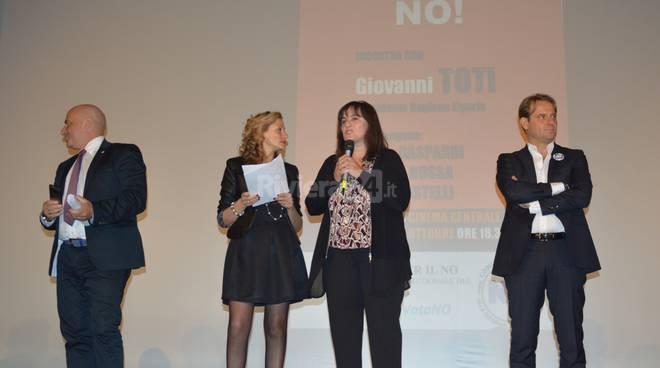 La Liguria dice no! Tour referendario del centro destra parte da Sanremo