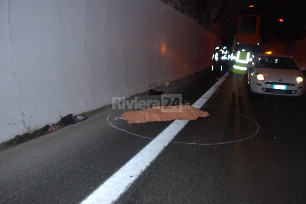 Migrante travolta e ucciso sull'A10 a Ventimiglia