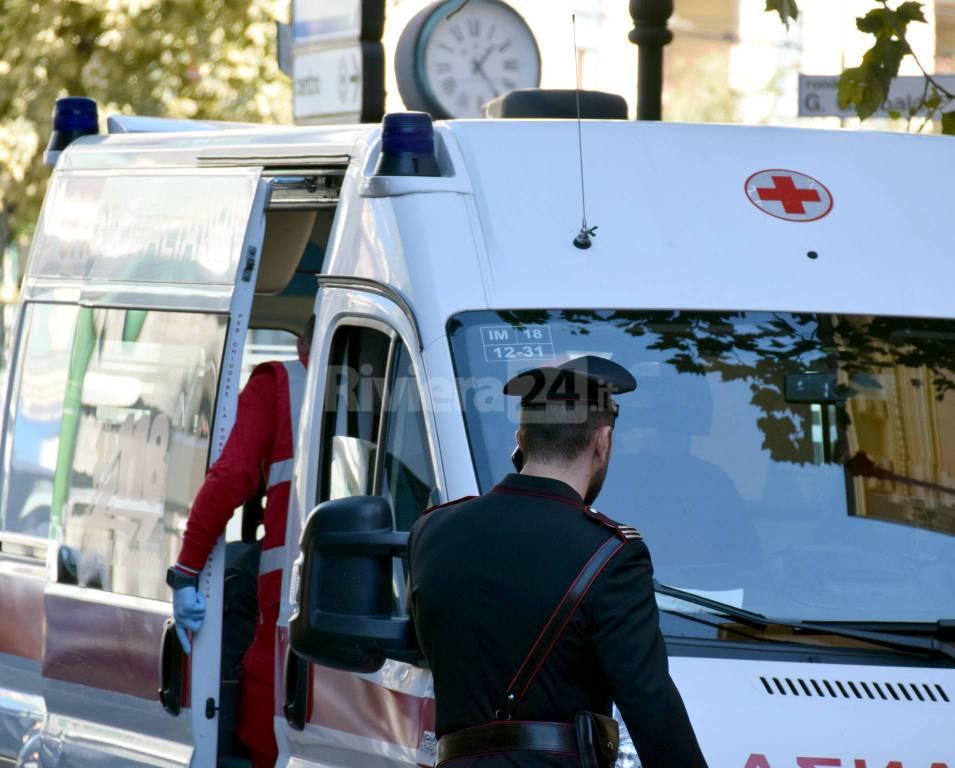 riviera24 - accoltellamento carabinieri ottobre 2016