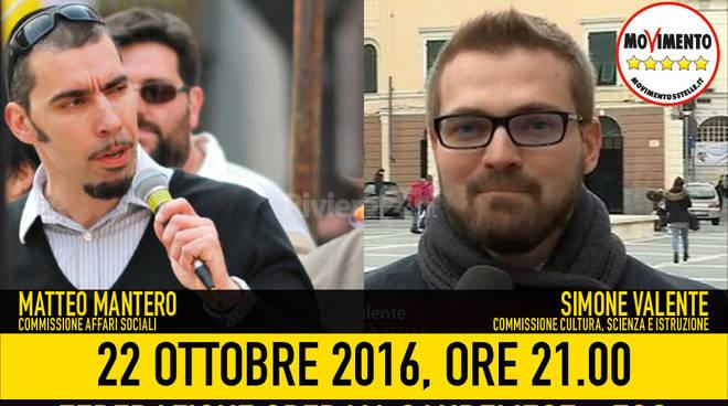 """riviera24 - """"Azzardopatia? Non giocarti la vita!"""", la conferenza del M5S Sanremo"""