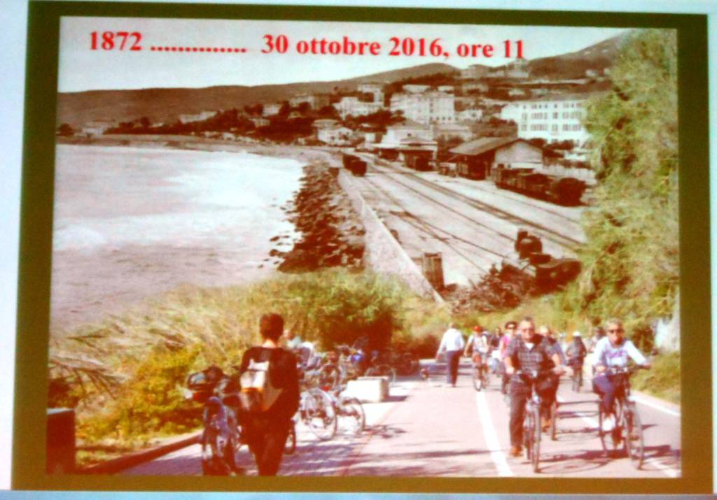 Riviera24 - botanica della ciclabile lezione Unitre Sanremo 2016